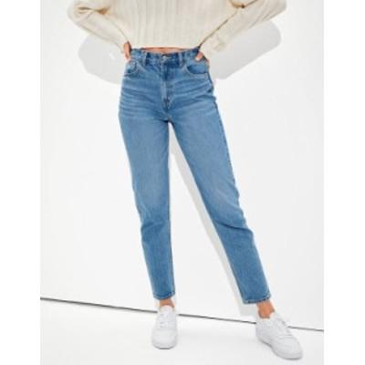 アメリカンイーグル レディース デニムパンツ ボトムス AE x The Jeans Redesign Mom Jean Classic Medium