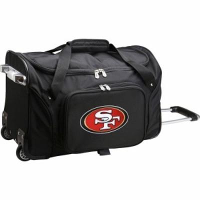 モジョ Mojo Licensing ユニセックス スーツケース・キャリーバッグ バッグ Mojo San Francisco 49ers Wheeled Duffle
