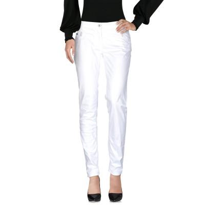 ブルーガール ブルマリン BLUGIRL BLUMARINE パンツ ホワイト 28 コットン 97% / ポリウレタン 3% パンツ