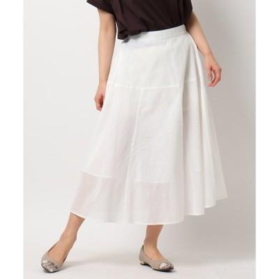 スカート ロハシーコットンAラインスカート/ONSTYLE/テレワーク/WEB会議