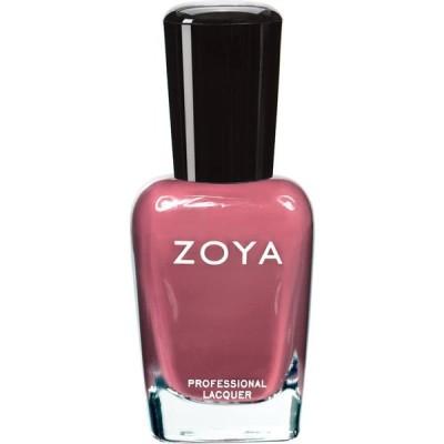 ZOYA ゾーヤ ネイルカラー ZP422 COCO ココ 15ml なめらかな深いモーブ マット 爪にやさしいネイルラッカーマニキュア