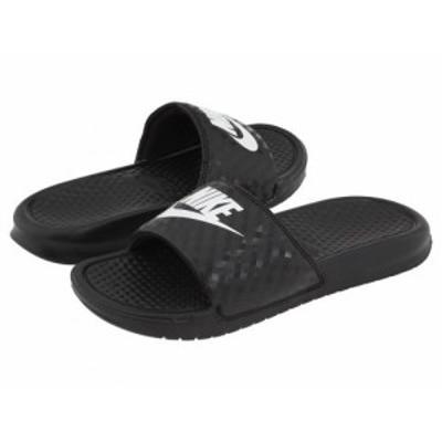 Nike ナイキ レディース 女性用 シューズ 靴 サンダル Benassi JDI Slide Black/White【送料無料】