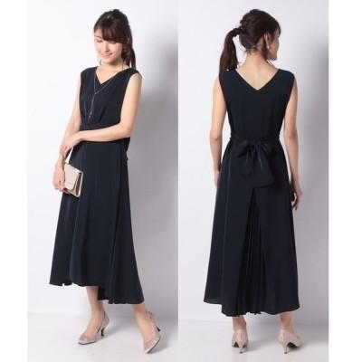 【エイミーパール(ドレス)】センタープリーツドレス