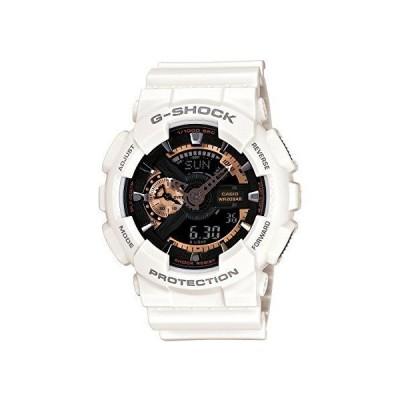 [カシオ] 腕時計 ジーショック Rose Gold Series ローズゴールドシリーズ GA-110RG-7AJF ホワイト