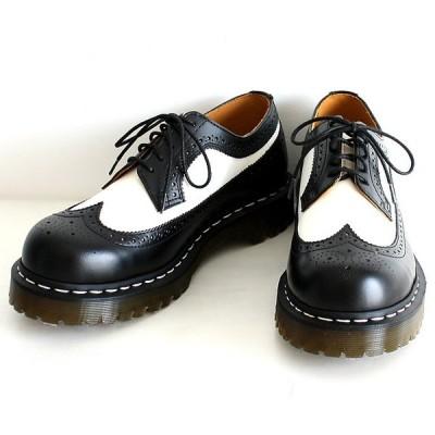 Dr martens ドクターマーチン ブーツ メンズ ラバーソール モード系 ロック 黒 ブラック 白 ホワイト レザー 靴 シューズ 中性的 ユニセックス レディース