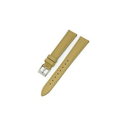 【新品・送料無料】CASSIS[カシス] カーフ 時計ベルト 裏面防水素材 CANNES カンヌ 本革 レザー 14mm ベージュ 交換用工具付き D10217A102