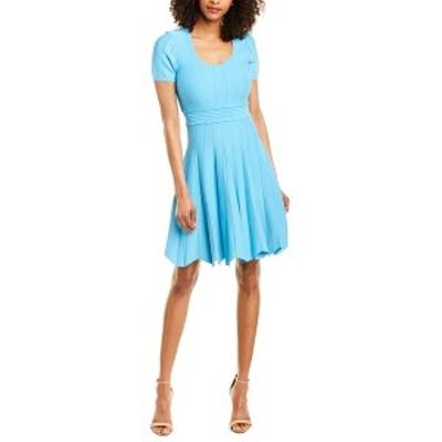 ショシャーナ レディース ワンピース トップス Shoshanna Jonetta A-Line Dress turquoise