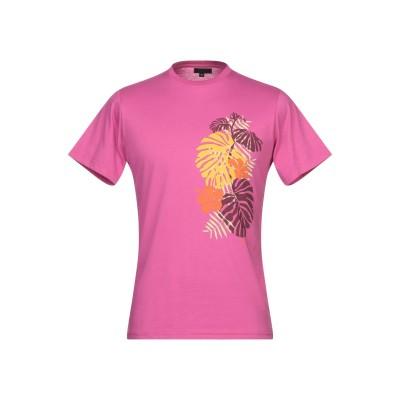 LIU •JO MAN T シャツ フューシャ 3XL コットン 100% T シャツ