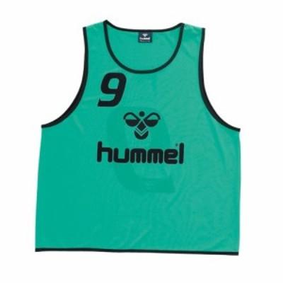 (ヒュンメル)hummel サッカー トレーニングビブス タンクトップ HJK6005Z [ジュニア] HJK6005Z 62 ターコイズ JL-JO