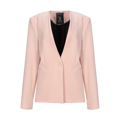 HANITA テーラードジャケット ピンク 46 ポリエステル 97% / ポリウレタン 3% テーラードジャケット