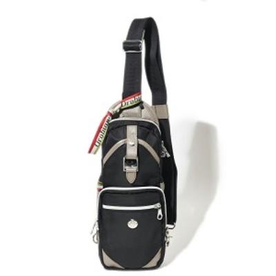 オロビアンコ【国内正規品】 ボディバッグ ANNIBALE―F01 01ブラック/グレー メンズ【メンズバッグ バック】OROBIANCO ブランド ギフト