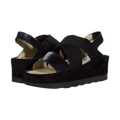 FLY LONDON フライロンドン レディース 女性用 シューズ 靴 ヒール BIME169FLY - Black/Black Rug/Suede