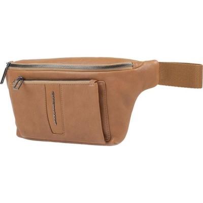 ピクアドロ PIQUADRO メンズ ボディバッグ・ウエストポーチ バッグ backpack & fanny pack Camel