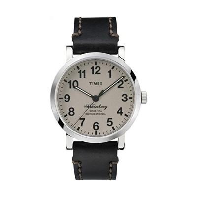 タイメックス Timex Waterbury メンズ腕時計 ケース40mm レザーストラップ TW2P58800ZA
