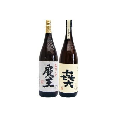焼酎 飲み比べセット 喜六(きろく) 芋 1800ml黒木本店  と魔王 芋 1800ml白玉酒造  2本セット