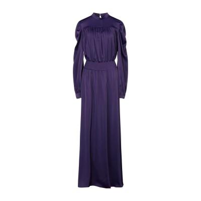 REVISE ロングワンピース&ドレス パープル S ポリエステル 95% / ポリウレタン 5% ロングワンピース&ドレス