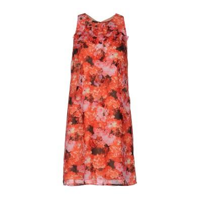 パトリツィア ペペ PATRIZIA PEPE ミニワンピース&ドレス レッド 40 100% ポリエステル ミニワンピース&ドレス