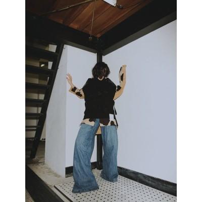 MIHARA YASUHIRO / ミハラヤスヒロ リサイズタックデニムパンツ Resize Tack denim pants