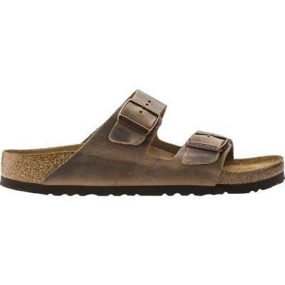 ビルケンシュトック サンダル レディース シューズ Arizona Soft Footbed Leather Narrow Sandal - Women's Tobacco Oiled Leather