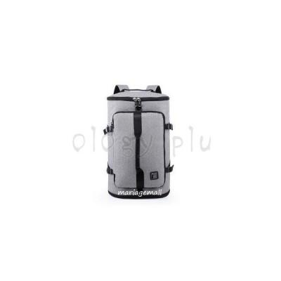 メンズ リュックサック 大容量 多重収納 多機能 撥水オックスフォード USB充電 アウトドア 旅行 通勤 カジュアル