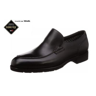 madras Walk/マドラスウォーク MW5642S ゴアテックス スリッポン 防水 紳士靴 ビジネスシューズ (ブラック)4E