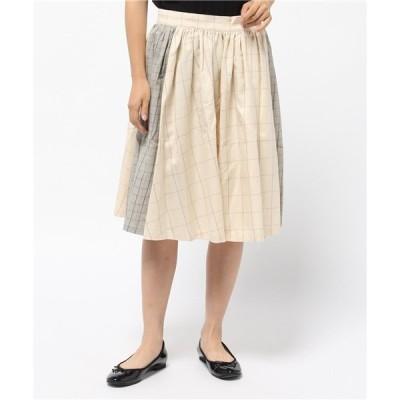 スカート so far Viyella Gathered Skirt / ソーファー ビエラギャザースカート