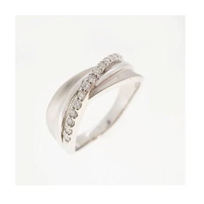 リング 天然ダイヤモンド 0.18 ct Pt950 プラチナ 指輪 未使用