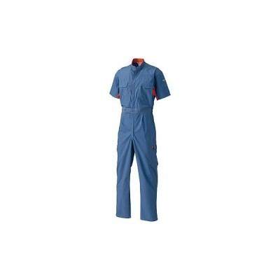 半袖続服 日の丸繊維 (SunDisk) #1628 トップブルー/3L