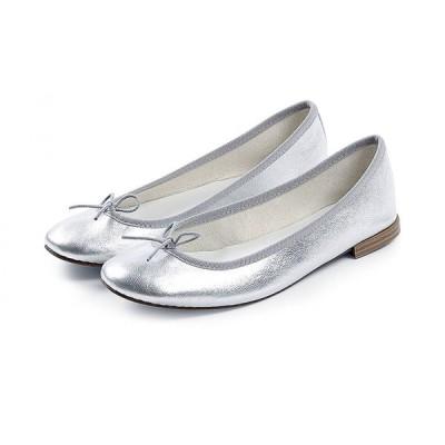 正規取扱店 repetto Ballerina Cendrillon Metallic Silver (レペット サンドリオン)