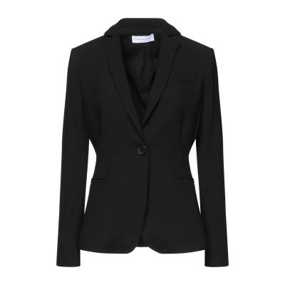 CARACTÈRE テーラードジャケット ブラック 40 ポリエステル 100% テーラードジャケット