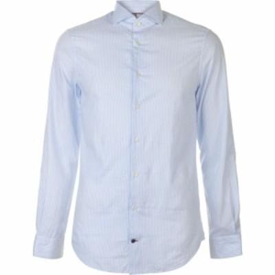 トミー ヒルフィガー Tommy Hilfiger Tailoring メンズ シャツ トップス tommy slim stripe shirt Lavender