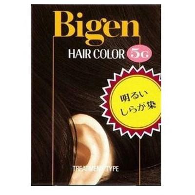 ビゲンヘアカラー 5G (ふかい栗色)