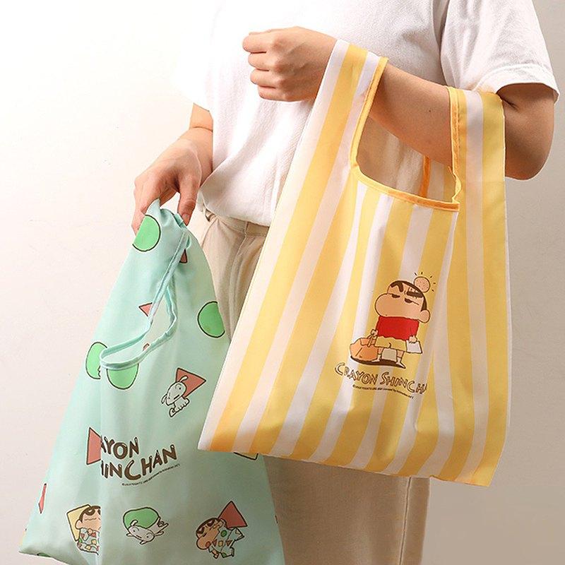 蠟筆小新Eco Bag-  環保袋 折疊購物袋 收納袋 手提袋