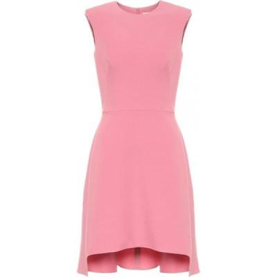 アレキサンダー マックイーン Alexander McQueen レディース パーティードレス ワンピース・ドレス Wool-Blend Crepe Minidress Quilt Pink