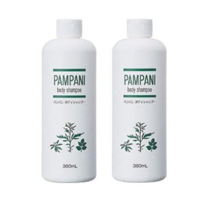 パンパニ(PAMPANI) ボディシャンプー 380ml×2本組
