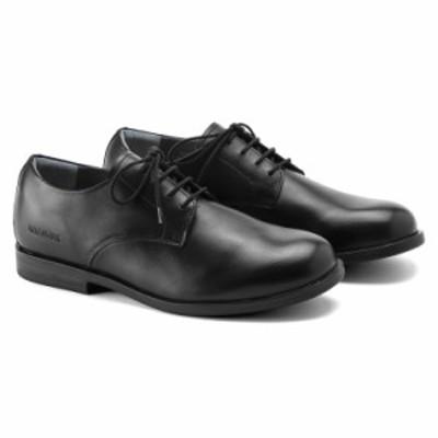 ビルケンシュトック メンズ ジャレン ナチュラル レザーシューズ 革靴 ブラック レギュラーフィット(幅広) BIRKENSTOCK JAREN
