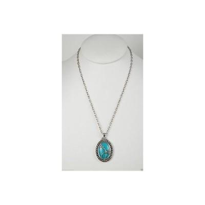 ネックレス ヤミートミー GeoArt by Cynthia Gale Sterling Silver/Turquoise pendant necklace
