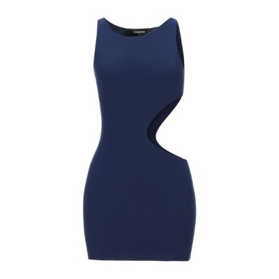 DSQUARED2 チューブドレス ファッション  レディースファッション  ドレス、ブライダル  パーティドレス ブルー