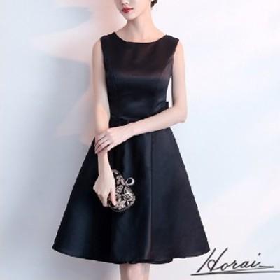 2020年新作 送料無料 韓国 パーティードレス ノースリーブ 膝丈 スリム ワンピドレス 結婚式 二次会 パーティー 20代 30代 40代