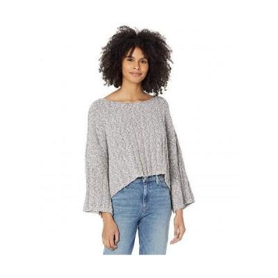 Free People フリーピープル レディース 女性用 ファッション セーター Good Day Pullover - Charcoal