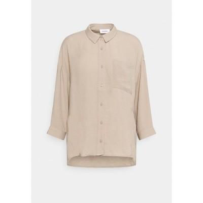 モドストローム シャツ レディース トップス ALEXIS - Button-down blouse - cocoon sand
