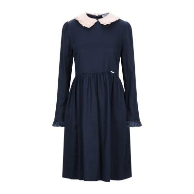 アリーニ AGLINI ミニワンピース&ドレス ダークブルー 42 コットン 100% ミニワンピース&ドレス