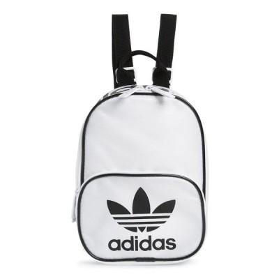 アディダスオリジナルス バックパック・リュックサック バッグ レディース Santiago Mini Backpack White/ Black