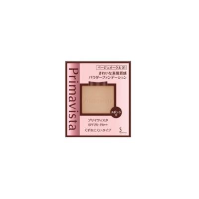 花王 ソフィーナ プリマヴィスタ きれいな素肌質感パウダーファンデーション SPF25/PA++ ベージュオークル01 9g