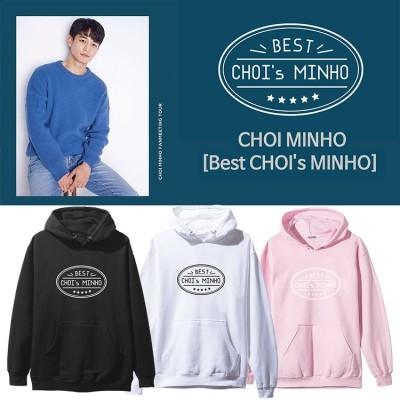 439SHINee Minho  Best CHOIs MINHO FMコンサート フードスウェット 韓国ファッション  男女兼用  トップス 韓国 応援服 厚手(裹起毛)パーカー