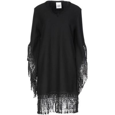 ジジル JIJIL ミニワンピース&ドレス ブラック 40 ポリエステル 88% / ポリウレタン 12% ミニワンピース&ドレス