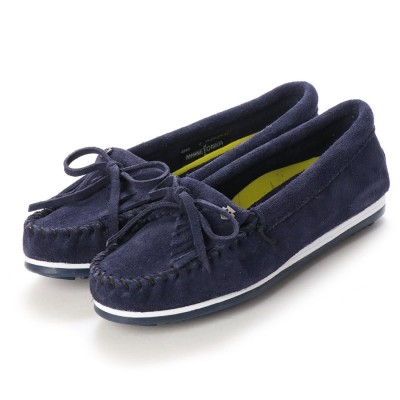 ミネトンカ Minnetonka KILTY PLUS (Navy Suede)