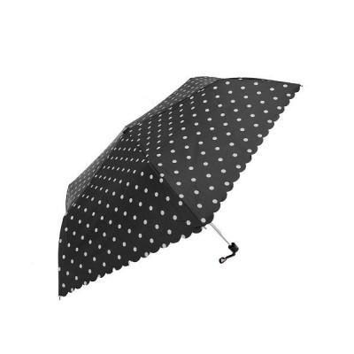 (BACKYARD/バックヤード)晴雨兼用 シルバーコーティング 折り畳み傘/ユニセックス ブラック系4