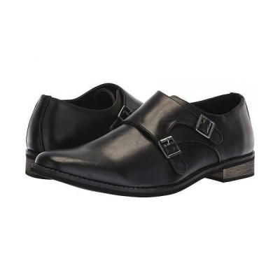 Deer Stags デアスタッグズ メンズ 男性用 シューズ 靴 オックスフォード 紳士靴 通勤靴 Cyprus - Black/Black