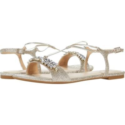 バッジェリー ミシュカ Jewel Badgley Mischka レディース サンダル・ミュール シューズ・靴 Paulina Light Gold